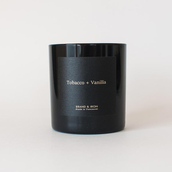 Brand & Iron - Tobacco + Vanilla candle 8.5oz