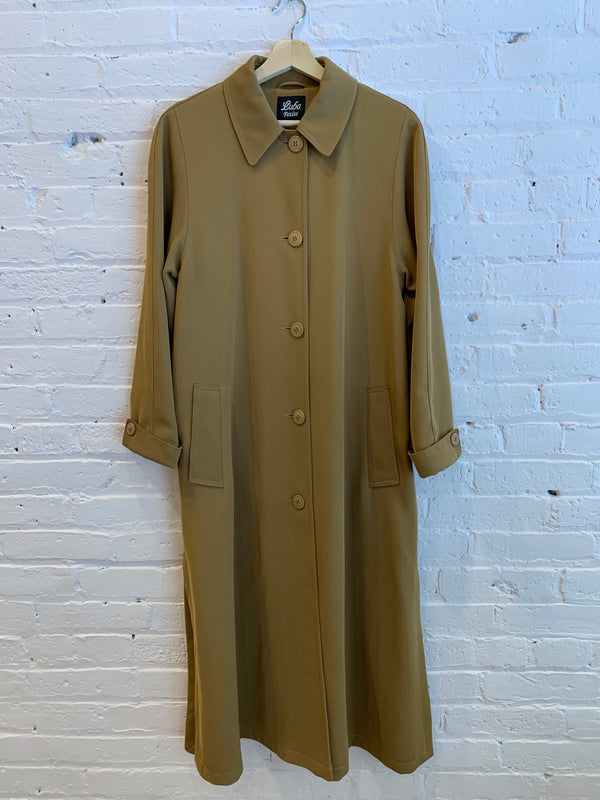 Vintage Long Button Front Coat