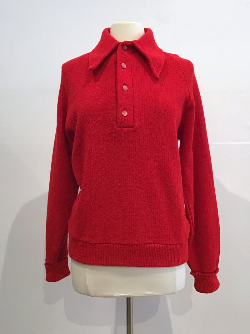 Vintage Shirt Collar Sweater