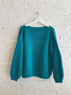 Vintage Hand-knit Sweater
