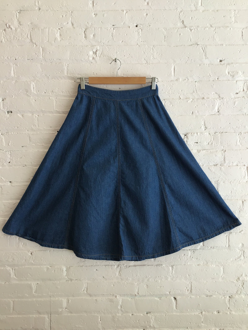 Soft Denim Skirt