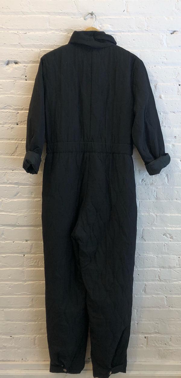 Quilted lightweight one-piece cold weather suit