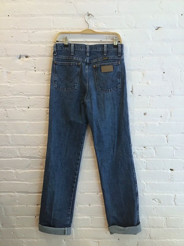 Wrangler Medium Wash Mom Jeans