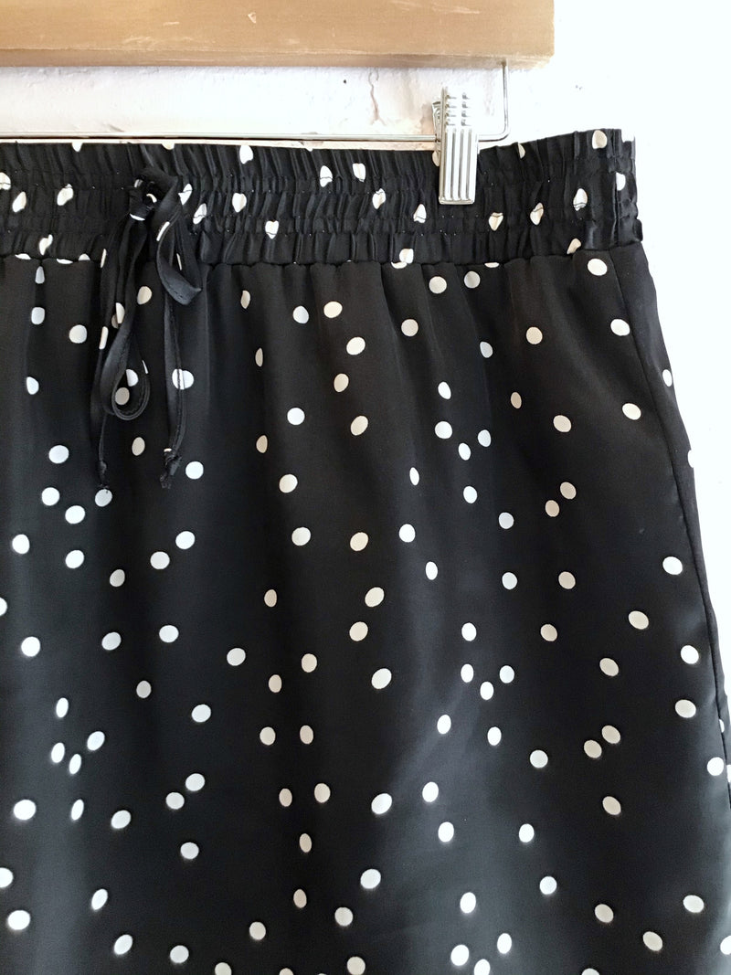 Polka Dot Mini Skirt