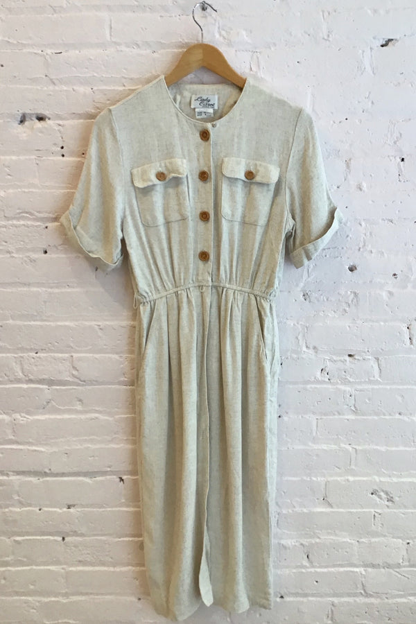 Vintage short sleeve dress