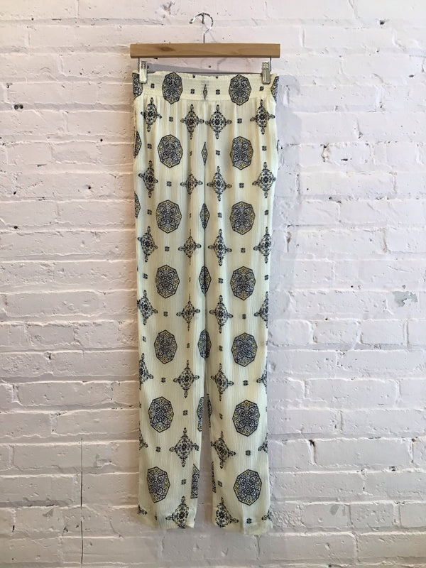 Vintage Crêpe Pull-On Pants