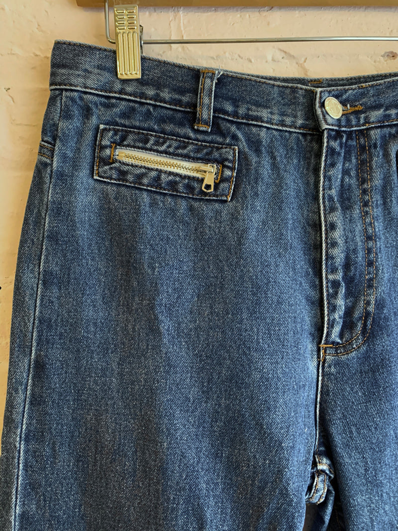A.P.C Denim with Zip Pockets
