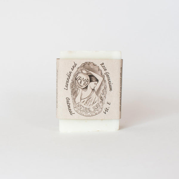 Lavandin and Rose Geranium Natural Soap
