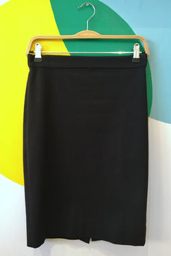 Black J Crew Pencil Skirt