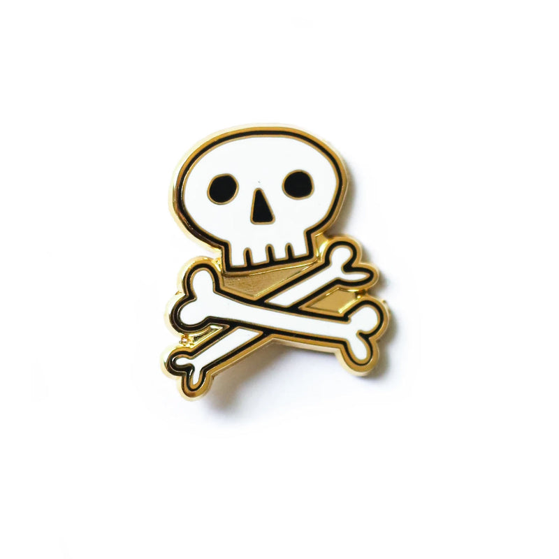 Skull & Cross Bones enamel pin