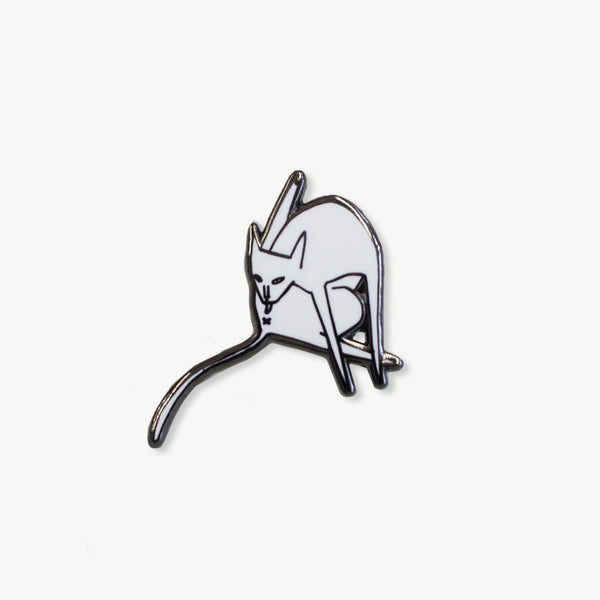 On The Phone enamel pin