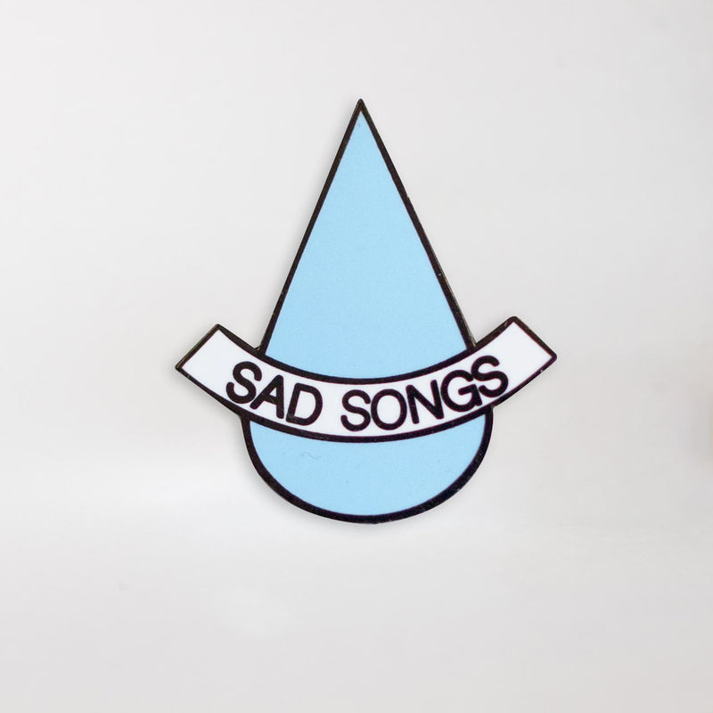 Sad Songs Enamel Pin