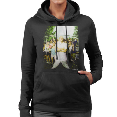 Eminem Crowd Women's Hooded Sweatshirt - Don't Talk To Me About Heroes