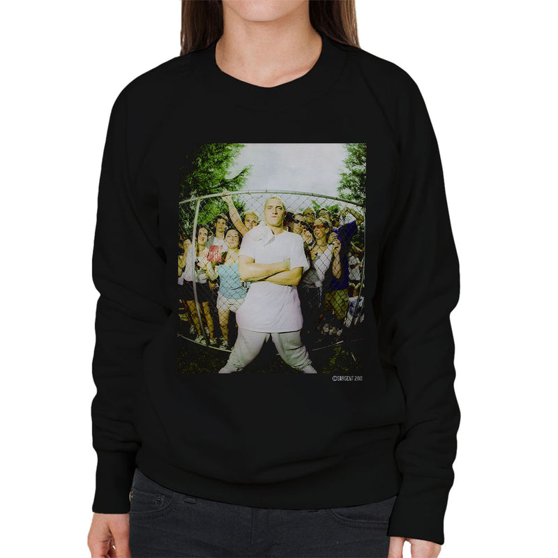 Eminem Crowd Women's Sweatshirt - Don't Talk To Me About Heroes