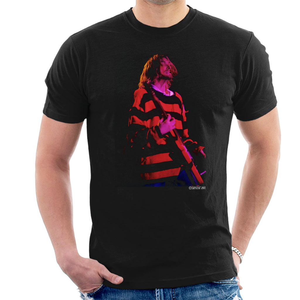 Kurt Cobain Nirvana Guitar Men's T-Shirt