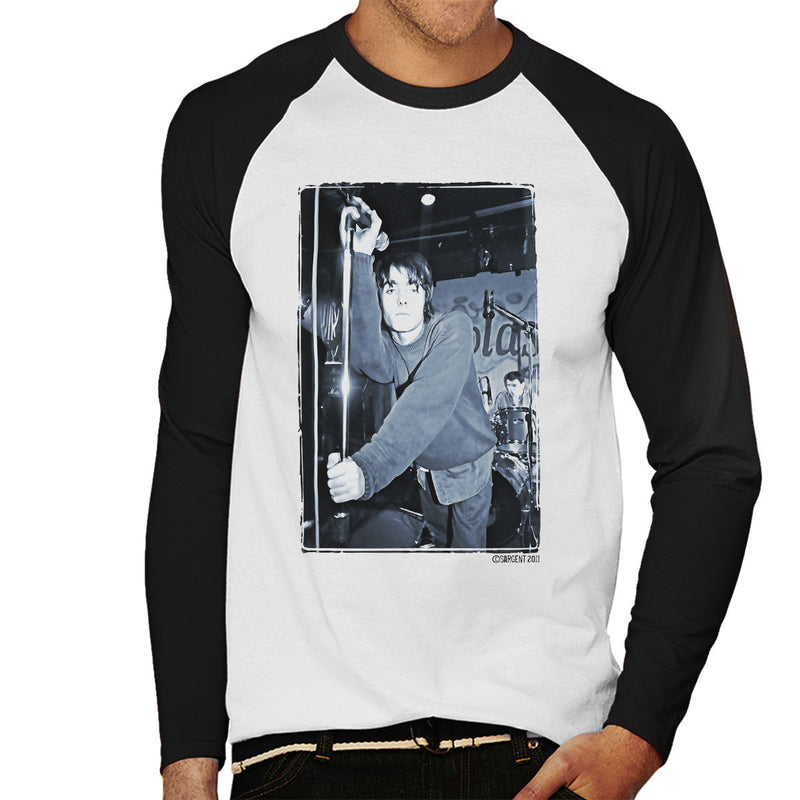 Oasis Liam Gallagher Live Men's Baseball Long Sleeved T-Shirt - Don't Talk To Me About Heroes