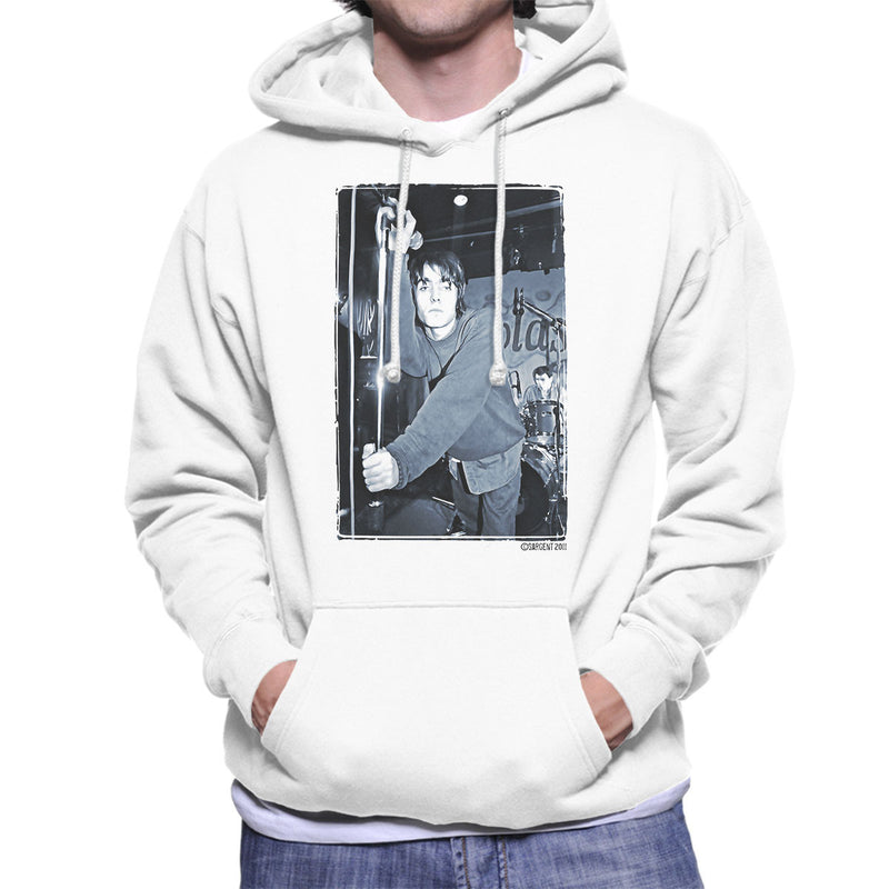 Oasis Liam Gallagher Live Men's Hooded Sweatshirt - Don't Talk To Me About Heroes