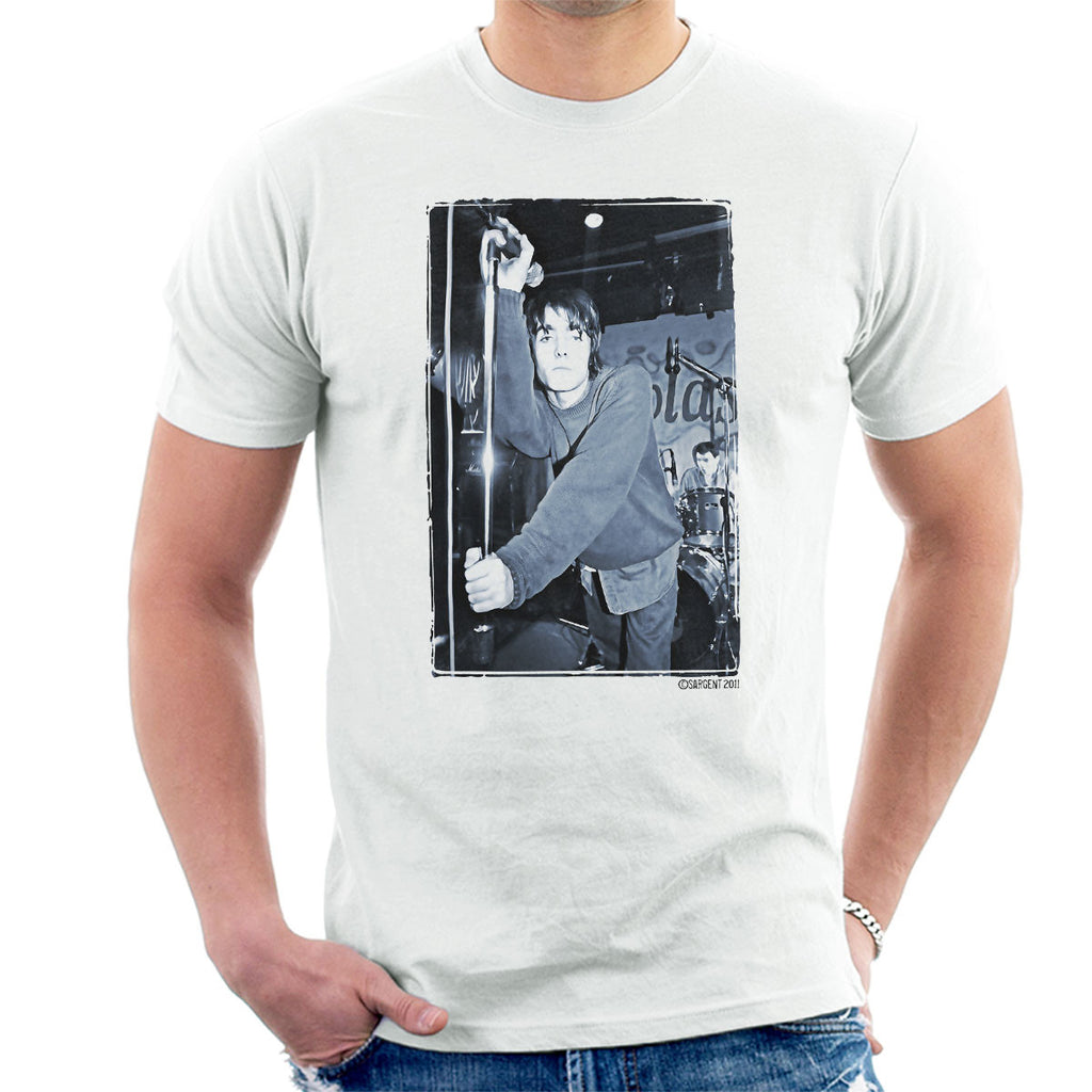 Oasis Liam Gallagher Live Men's T-Shirt
