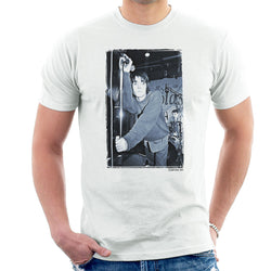 Oasis Liam Gallagher Live Men's T-Shirt - Don't Talk To Me About Heroes