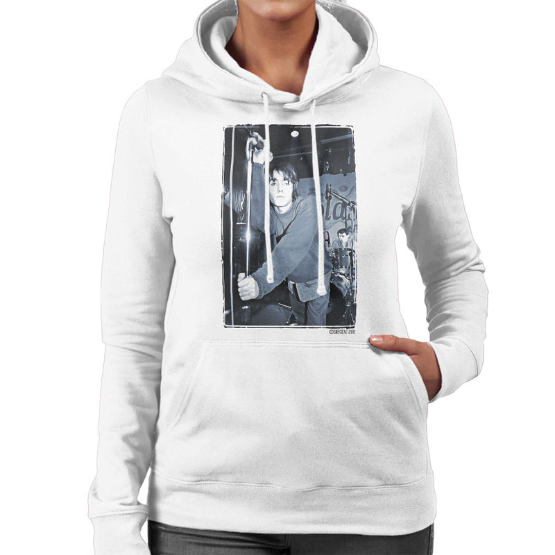 Oasis Liam Gallagher Live Women's Hooded Sweatshirt - Don't Talk To Me About Heroes