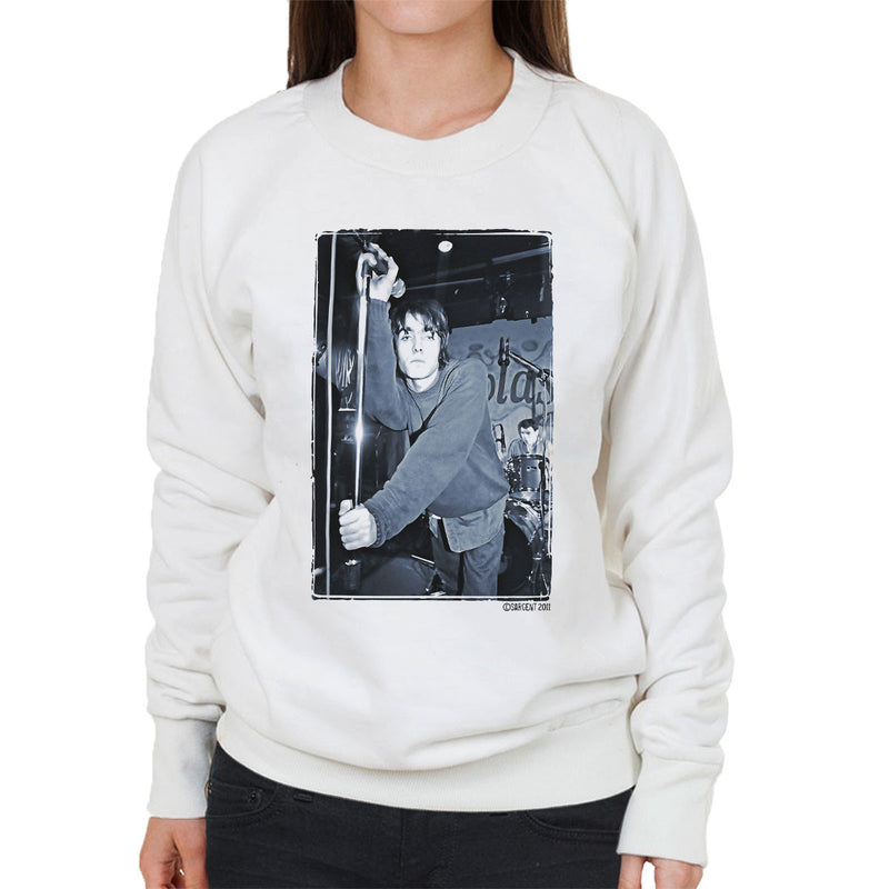 Oasis Liam Gallagher Live Women's Sweatshirt - Don't Talk To Me About Heroes