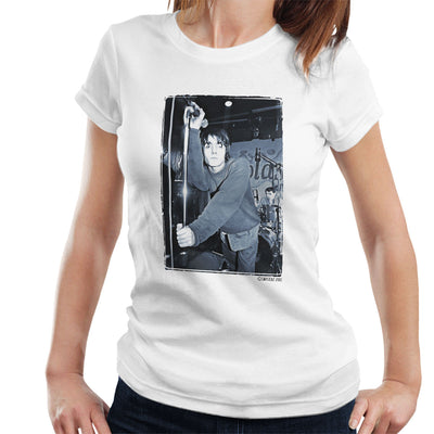 Oasis Liam Gallagher Live Women's T-Shirt - Don't Talk To Me About Heroes