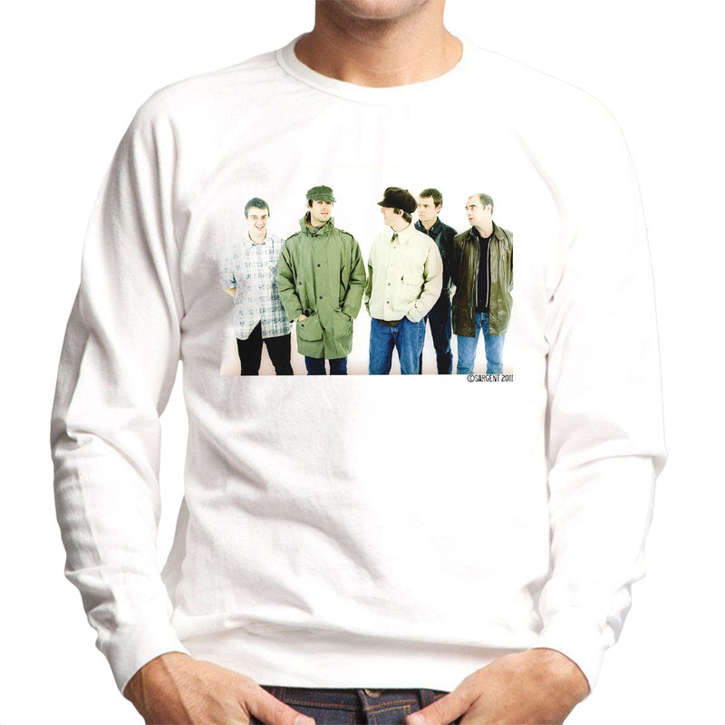 Oasis Band Noel Liam Gallagher Men's Sweatshirt - Don't Talk To Me About Heroes