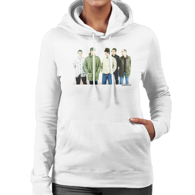 Oasis Band Noel Liam Gallagher Women's Hooded Sweatshirt - Don't Talk To Me About Heroes