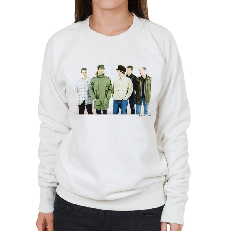 Oasis Band Noel Liam Gallagher Women's Sweatshirt - Don't Talk To Me About Heroes