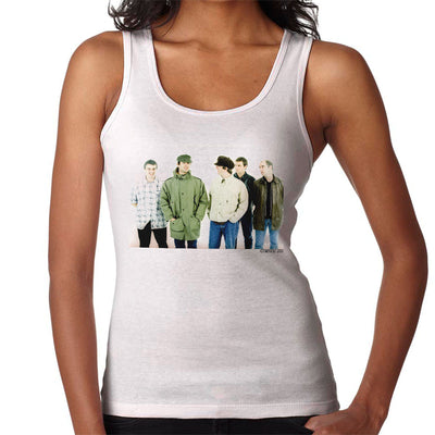 Oasis Band Noel Liam Gallagher Women's Vest - Don't Talk To Me About Heroes