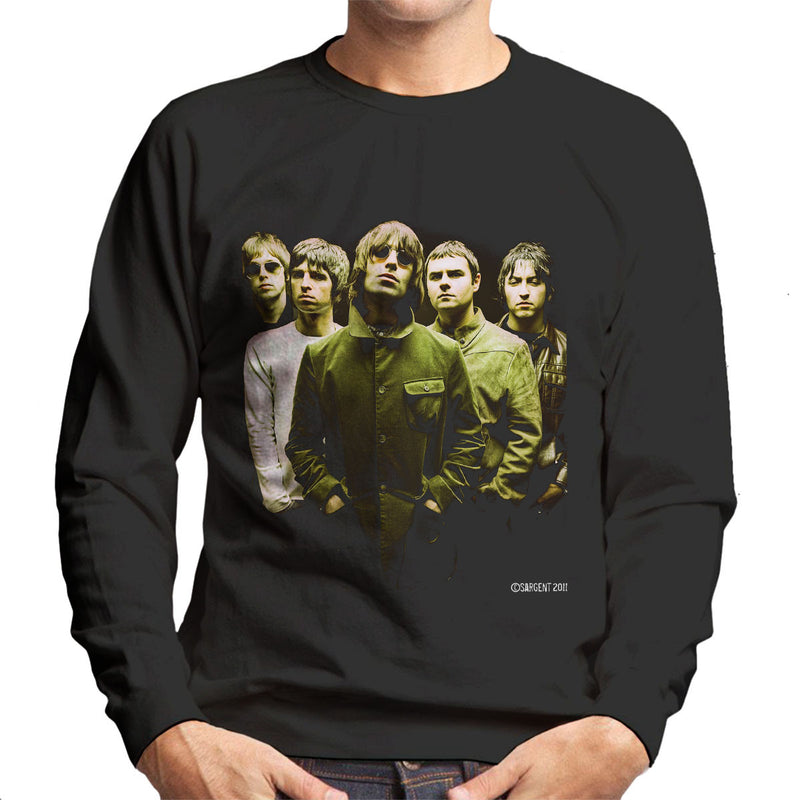 Oasis Band Liam Noel Gallagher Men's Sweatshirt - Don't Talk To Me About Heroes