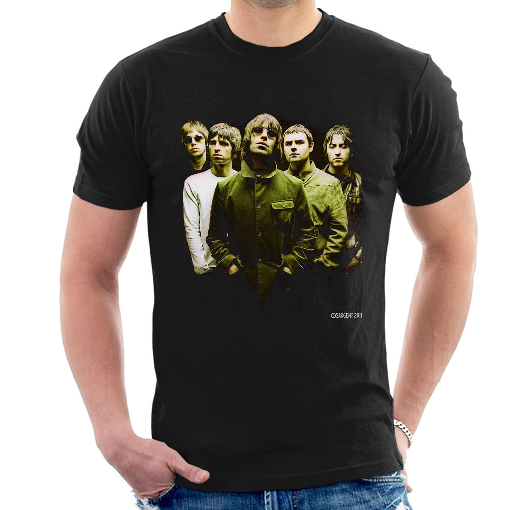 Oasis Band Liam Noel Gallagher Men's T-Shirt