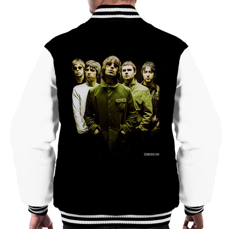 Oasis Band Liam Noel Gallagher Men's Varsity Jacket - Don't Talk To Me About Heroes