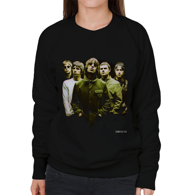Oasis Band Liam Noel Gallagher Women's Sweatshirt - Don't Talk To Me About Heroes