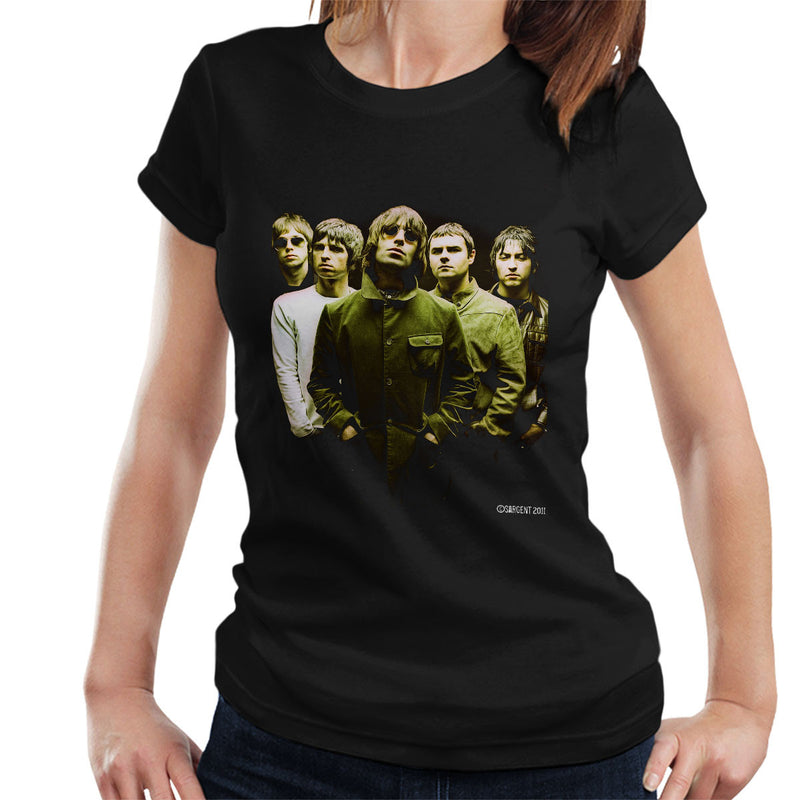 Oasis Band Liam Noel Gallagher Women's T-Shirt - Don't Talk To Me About Heroes