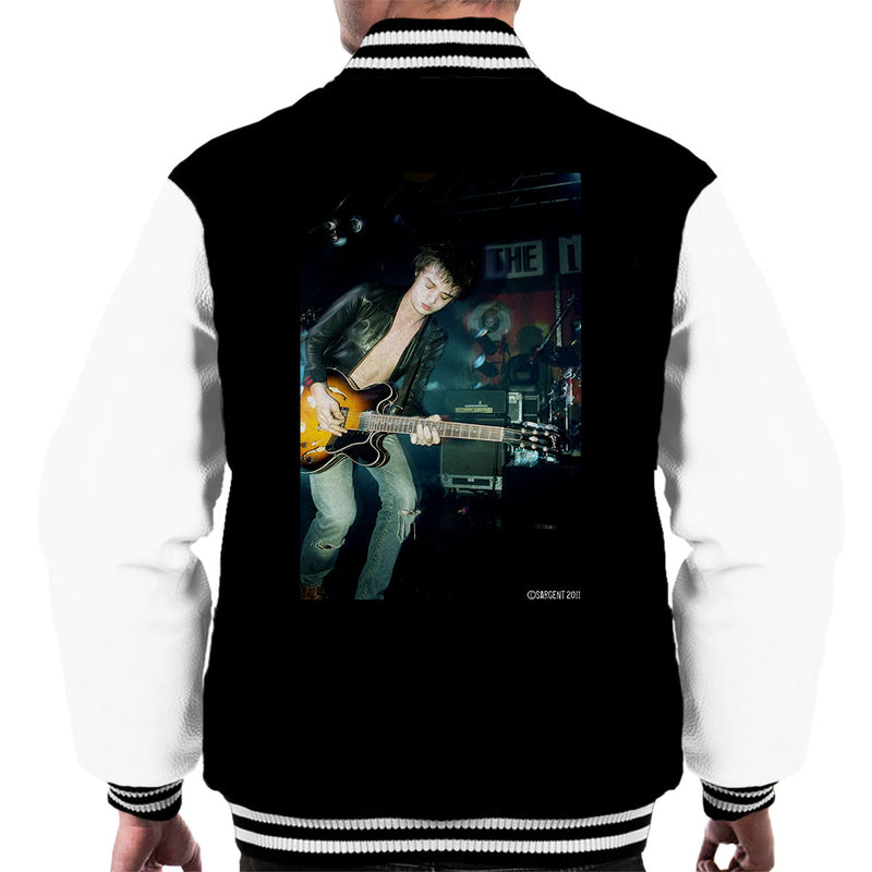 Pete Doherty Libertines Live Men's Varsity Jacket - Don't Talk To Me About Heroes