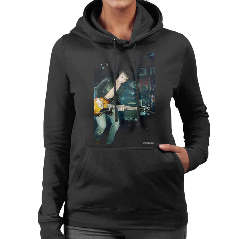 Pete Doherty Libertines Live Women's Hooded Sweatshirt - Don't Talk To Me About Heroes