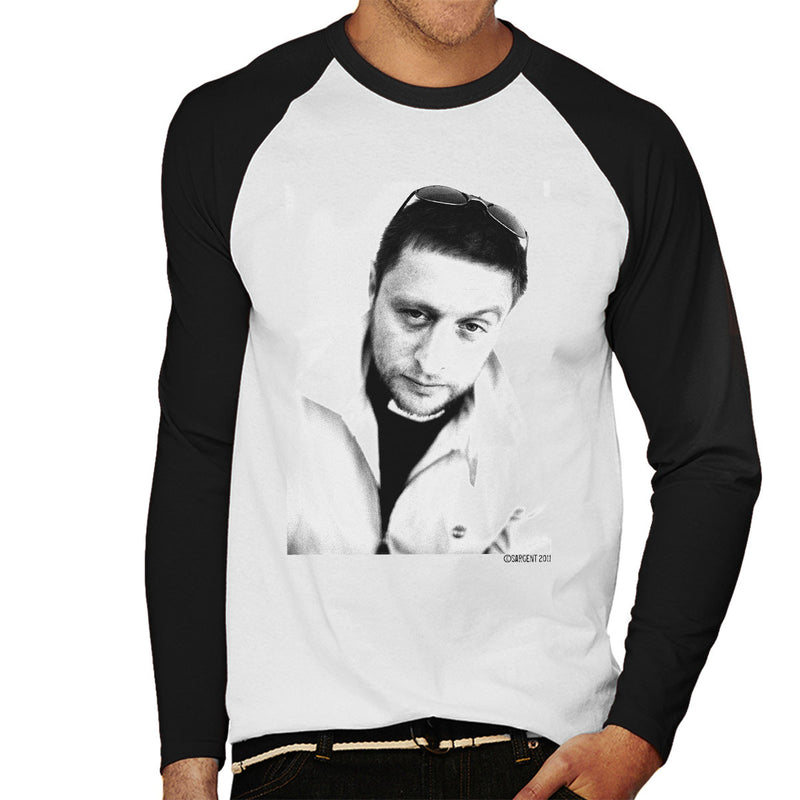 Shaun Ryder Happy Mondays Men's Baseball Long Sleeved T-Shirt - Don't Talk To Me About Heroes