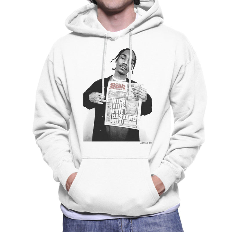 Snoop Dogg Daily Star Newspaper Men's Hooded Sweatshirt - Don't Talk To Me About Heroes