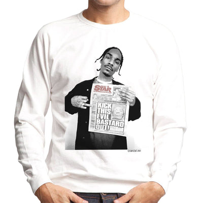 Snoop Dogg Daily Star Newspaper Men's Sweatshirt - Don't Talk To Me About Heroes