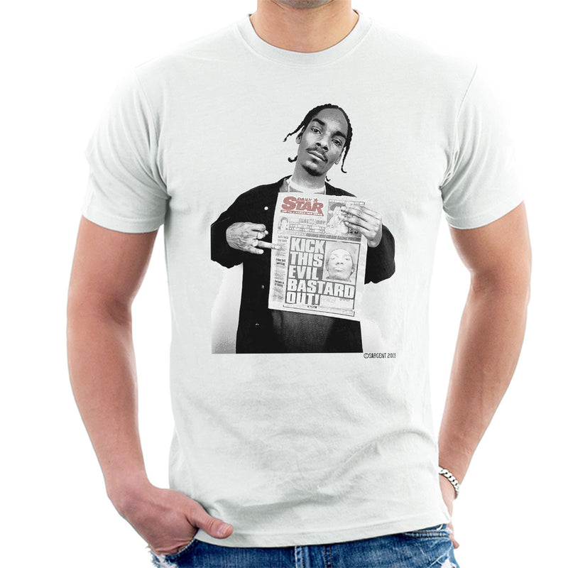 Snoop Dogg Daily Star Newspaper Men's T-Shirt - Don't Talk To Me About Heroes