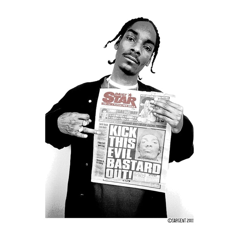 Snoop Dogg Daily Star Newspaper