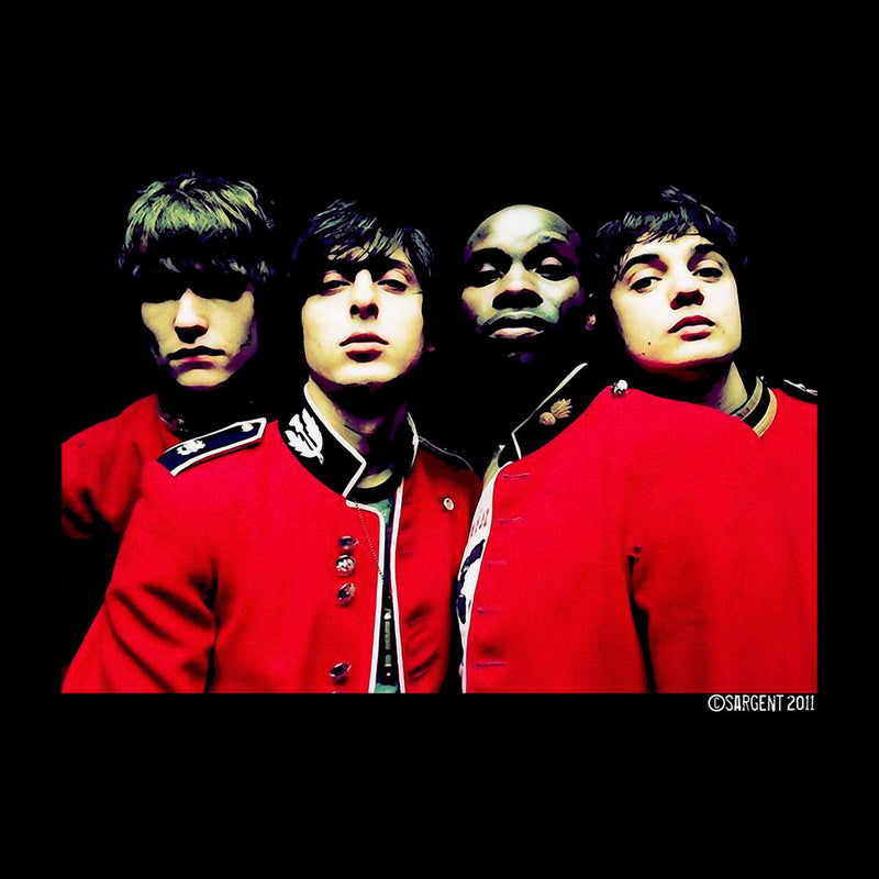 The Libertines Time For Heroes Album Cover Men's Varsity Jacket - Don't Talk To Me About Heroes