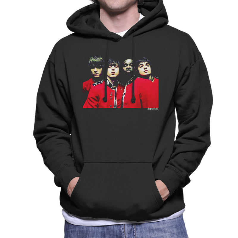The Libertines Time For Heroes Album Cover Men's Hooded Sweatshirt