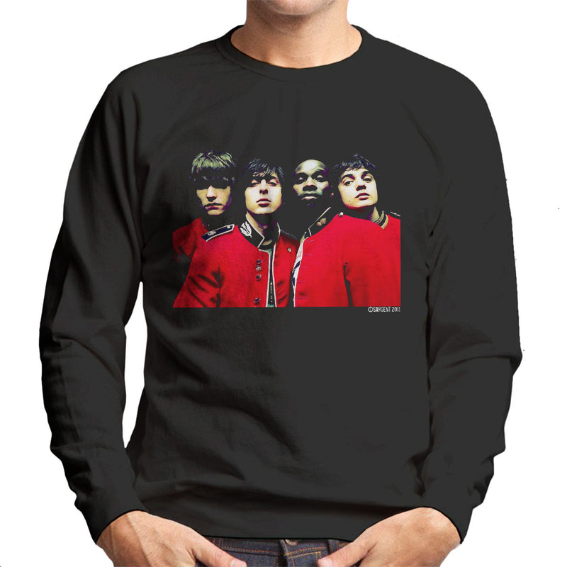 The Libertines Time For Heroes Album Cover Men's Sweatshirt
