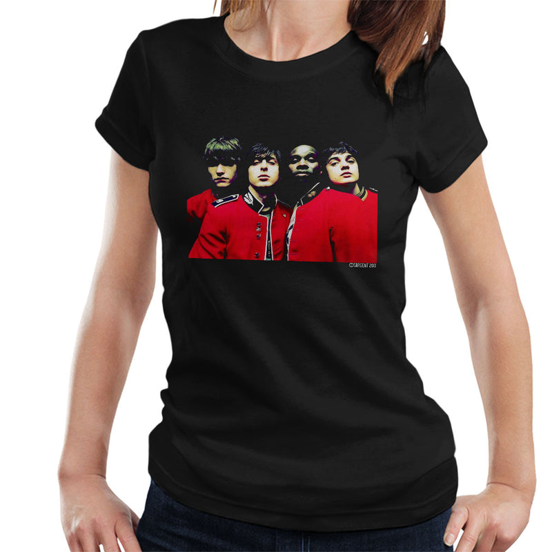 The Libertines Time For Heroes Album Cover Women's T-Shirt