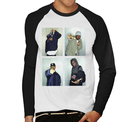 Wu Tang Clan Men's Baseball Long Sleeved T-Shirt