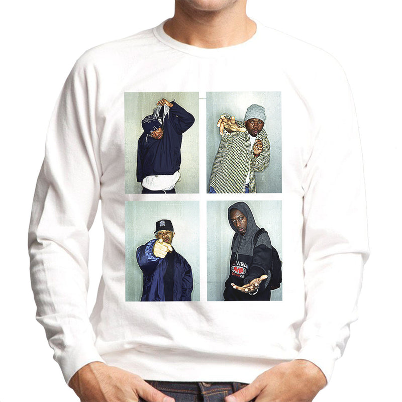 Wu Tang Clan Men's Sweatshirt - Don't Talk To Me About Heroes