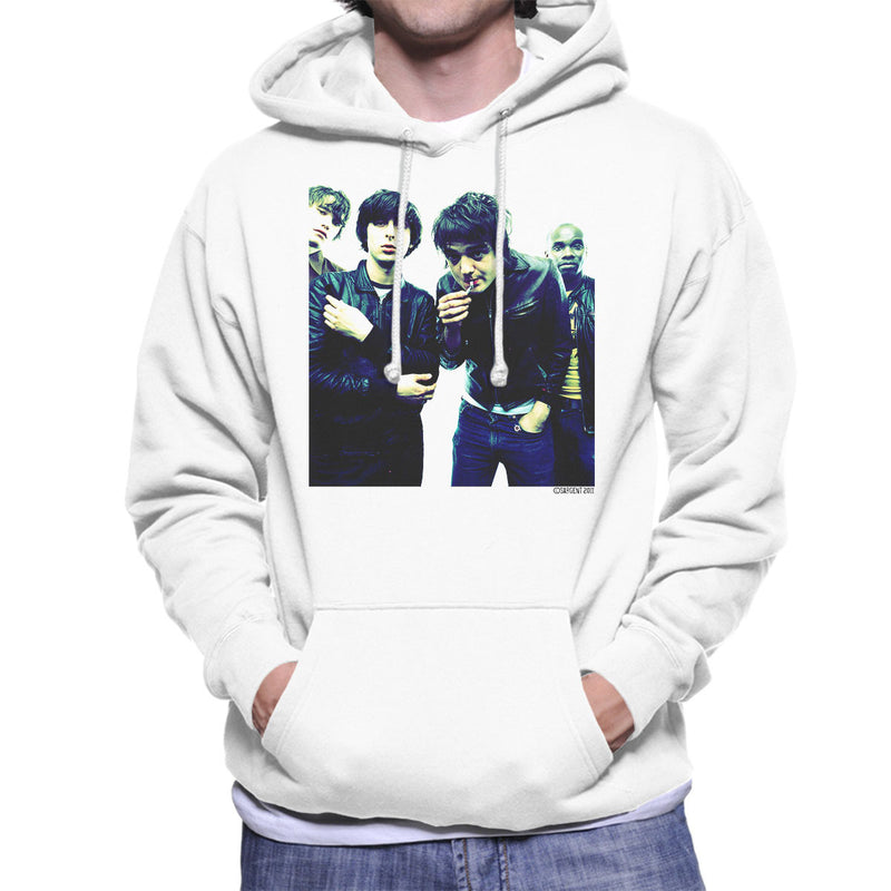 The Libertines Pete Doherty Smoking Men's Hooded Sweatshirt
