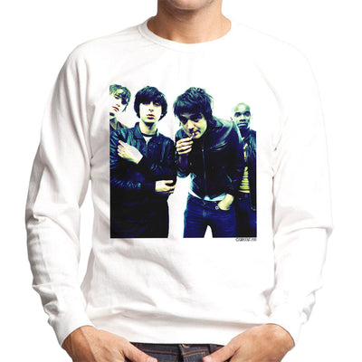 The Libertines Pete Doherty Smoking Men's Sweatshirt - Don't Talk To Me About Heroes